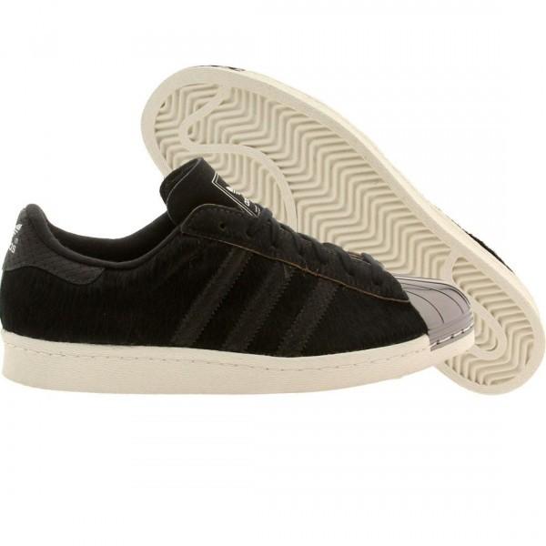 free shipping 21158 87f78 Adidas Originals Superstar 80 s - Metal Toe (Noir Noir )