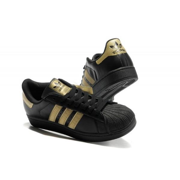Or Chaussure Superstar Adidas Nk8wp0o Cher Noir Femme Pas