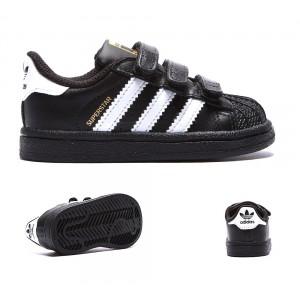 official photos abc81 95784 Adidas Originals Enfant Superstar Foundation Formateur Noir Blanc Chaussures