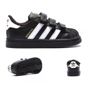 Superstar Originals Blanc Formateur Adidas Enfant Foundation Noir 8kwNn0OPX
