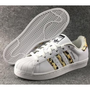 Adidas Originals Superstar Leopard Blanc